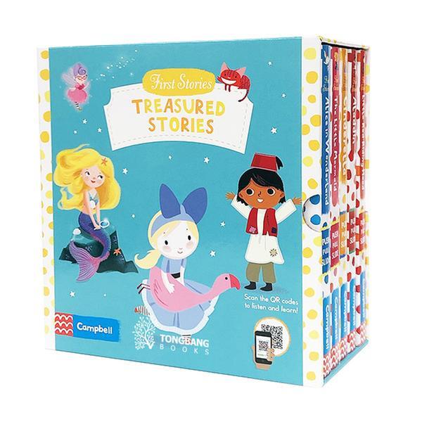 (원서)First Stories 5 Books Slipcase Pack A (Boardbook, 영국판)(QR음원)