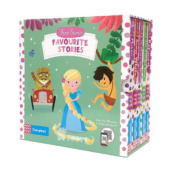 (원서)First Stories 5 Books Slipcase Pack B (Boardbook, 영국판)(QR음원)