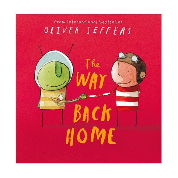 (원서)Oliver Jeffers : The Way Back Home (Book & CD, 영국판)