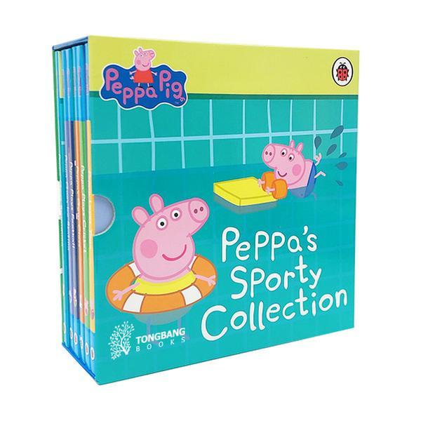 (원서)Peppa's Sporty Collection Slipcase 6 Books (Boardbook, 영국판)