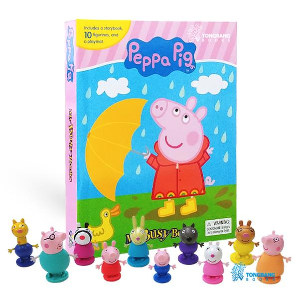 (원서)My Busy Books : Peppa Pig (Board book+Figures)