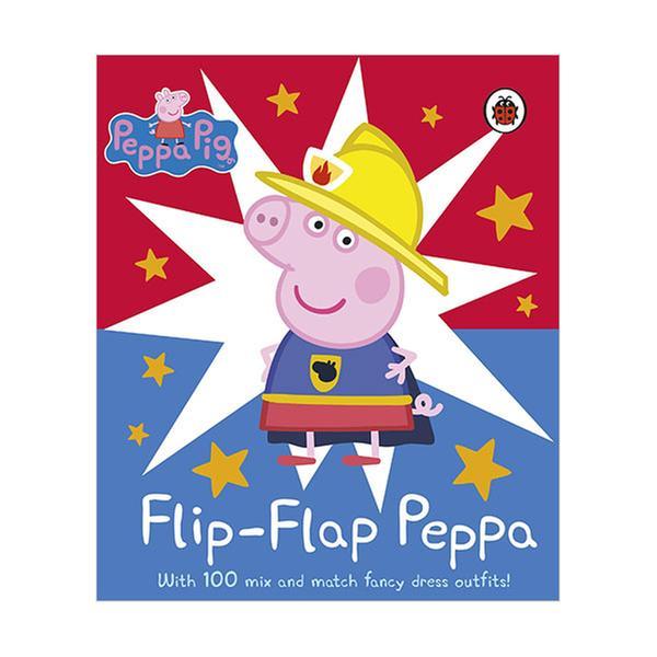(원서)Peppa Pig : Flip-Flap Peppa (Board book, 영국판)