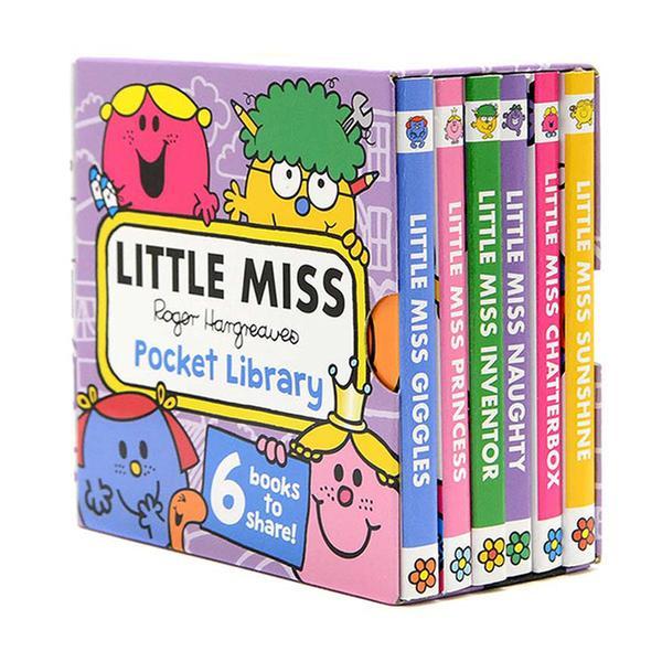 [원서] Little Miss : Pocket Library (Mini Board Book, 6종, 영국판) (CD미포함)