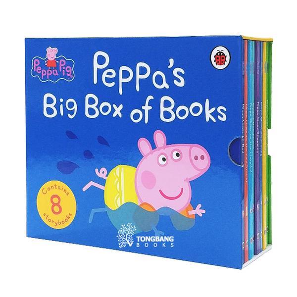 (원서)Peppa's Big Box of Books - 8 Book Set (Board book, 영국판) (CD 미포함)