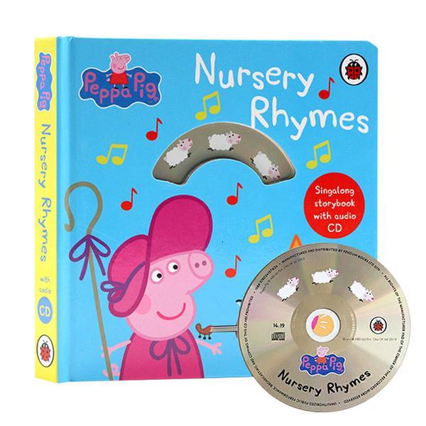 (원서)Peppa Pig : Nursery Rhymes : Singalong Storybook with Audio CD (Board book, 영국판)