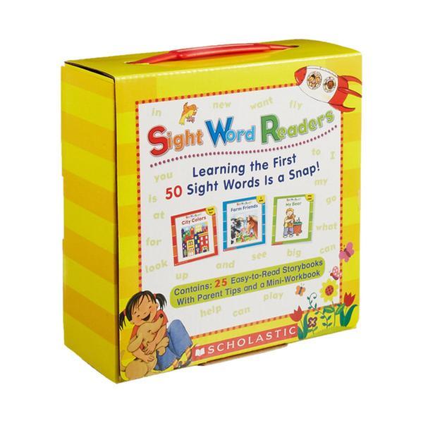 (원서) Sight Word Readers Box Pack (스토리북: 25권 + 미니워크북: 1권)(CD미포함)
