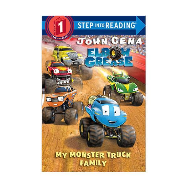 (원서)Step Into Reading 1 : Elbow Grease : My Monster Truck Family (Paperback)