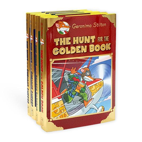 (원서)Geronimo Special Edition : Hunt for 챕터북 4종 세트 (Hardcover)(CD미포함)