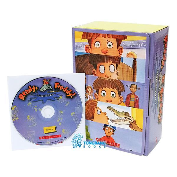 (원서)Ready, Freddy! #01-10 챕터북 Book & CD Collection 1 (Paperback + MP3 CD)
