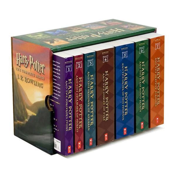 (원서)Harry Potter #01-7 Books Boxed Set (Paperback, 미국판)(CD미포함)