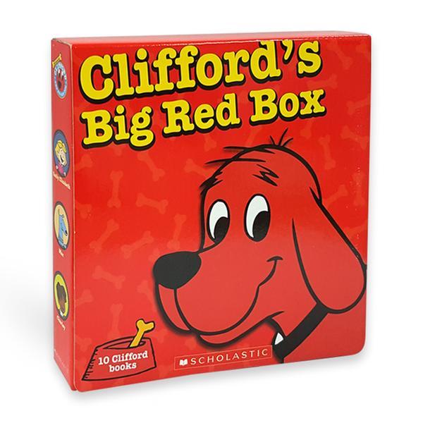 [원서] Clifford's Big Red Box 클리포드 페이퍼백 10종 박스 Paperback Box Set (미국판)