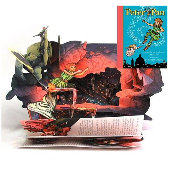 (원서)[피터팬 팝업북] Peter Pan : A Classic Collectible Pop-up (Hardcover)