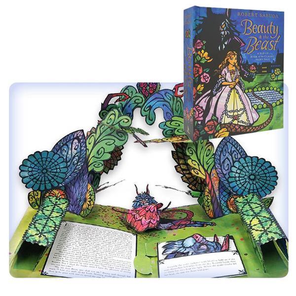 (책방) [미녀와 야수 팝업북] Beauty & the Beast : A Pop-up Book of the Classic Fairy Tale (Hardcover/POP-UP)