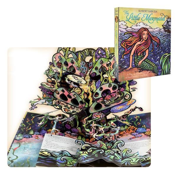(책방)[인어공주 팝업북] The Little Mermaid : A Classic Collectible Pop-up (Hardcover, Pop-Up)