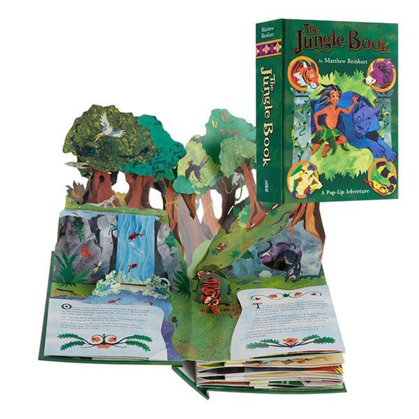 (원서) Jungle Book : A Pop-up Adventure [정글북 팝업북] (Hardcover, Pop-Up)